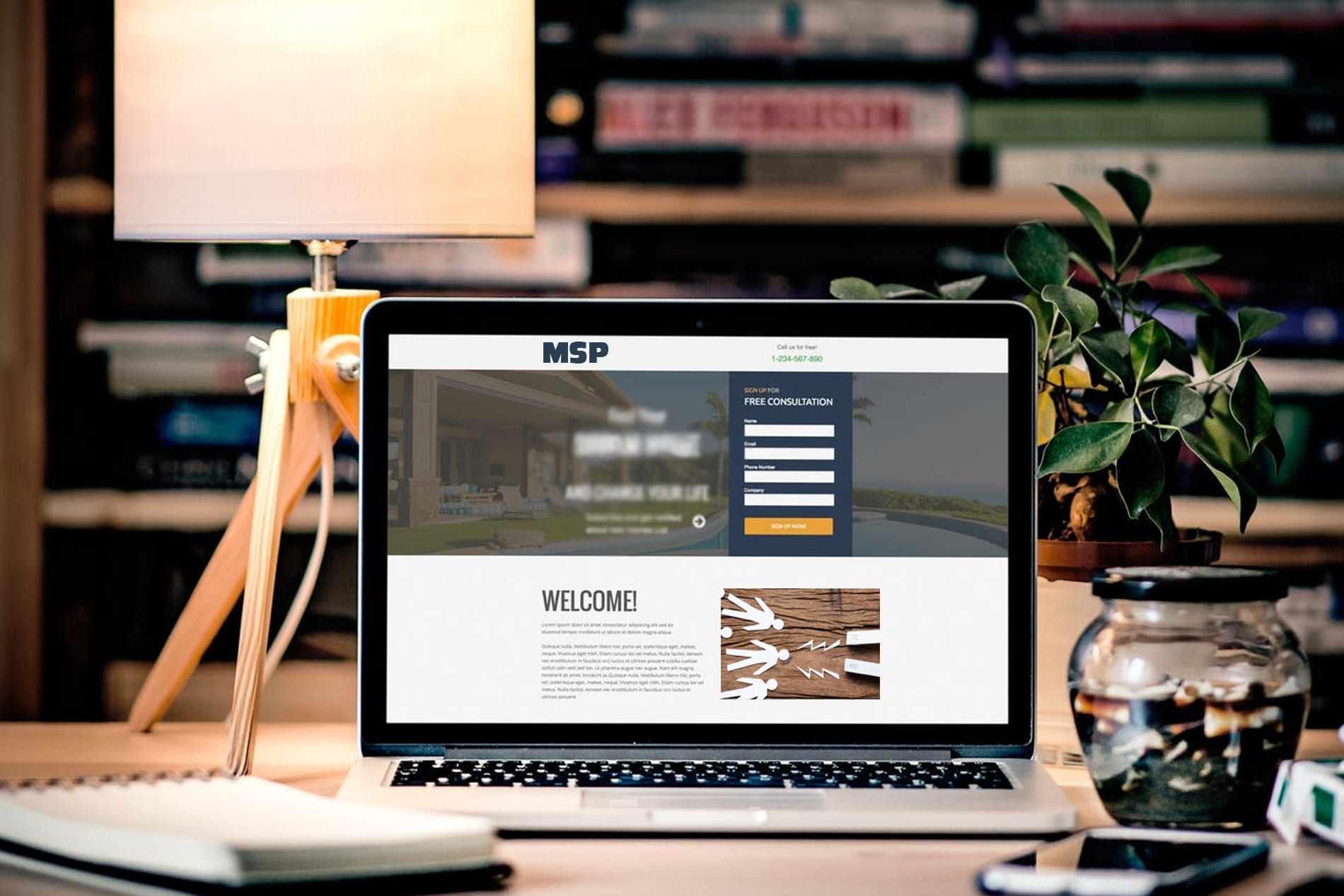 MSP landing pages